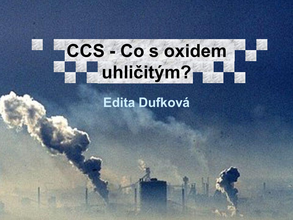 Edita Dufková CCS - Co s oxidem uhličitým