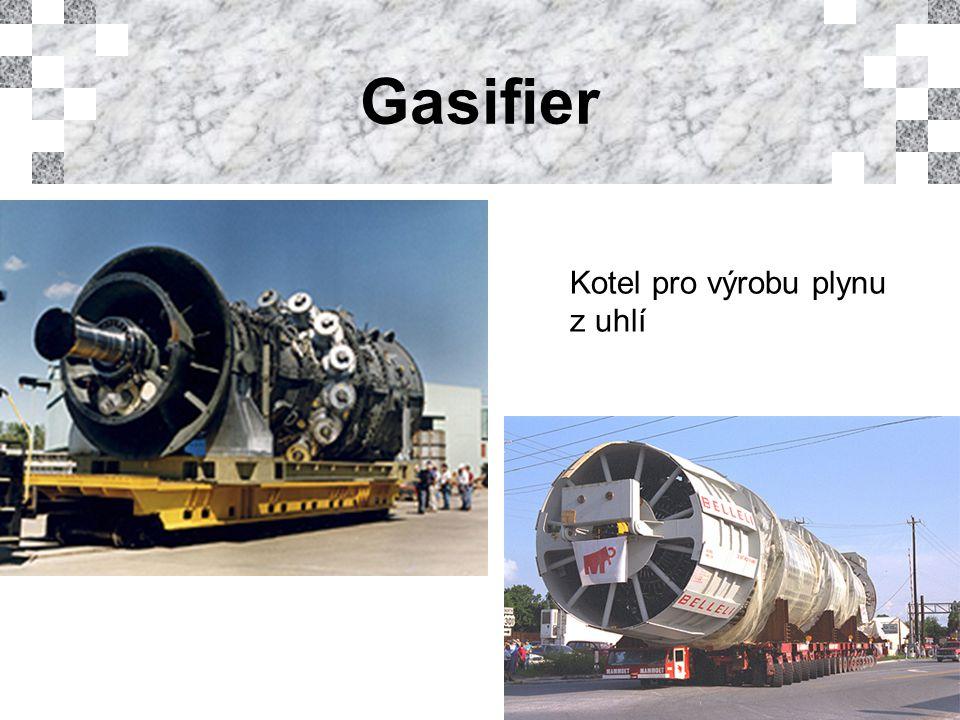 Gasifier Kotel pro výrobu plynu z uhlí