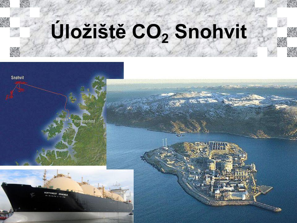 Úložiště CO 2 Snohvit