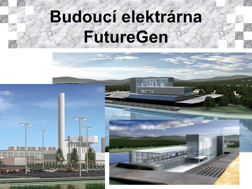 Budoucí elektrárna FutureGen