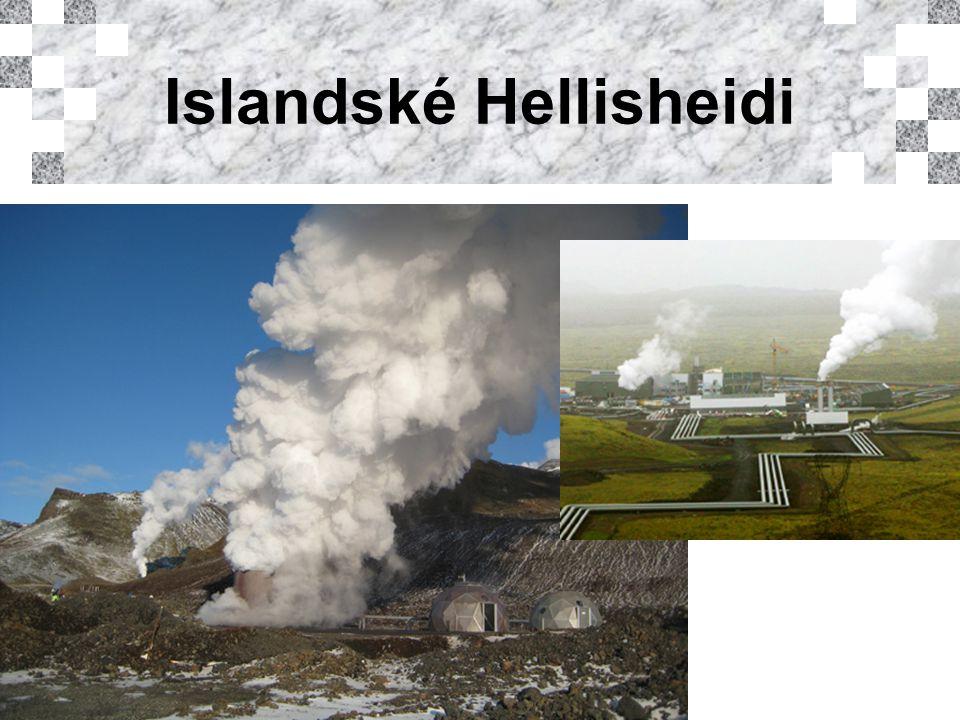 Islandské Hellisheidi