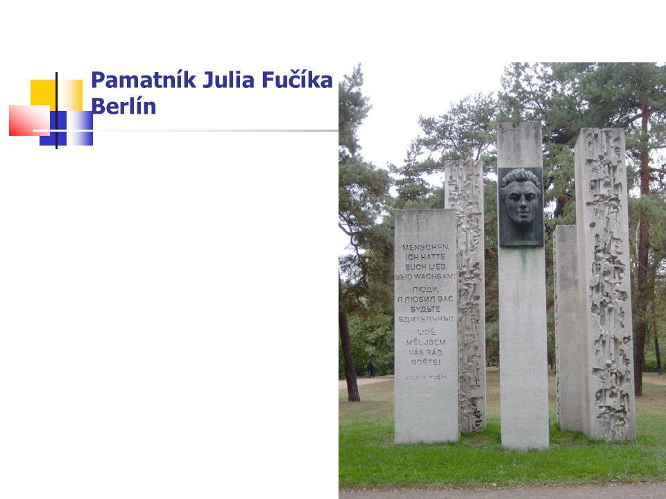 Pamatník Julia Fučíka Berlín