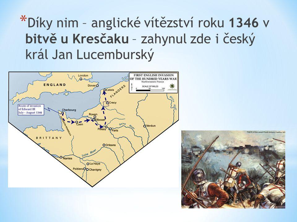 * Angličané - vítězství v bitvě u Azincourtu (1415) – ovládli celý sever Francie i Paříž * Obrat ve válce – Jana z Arku