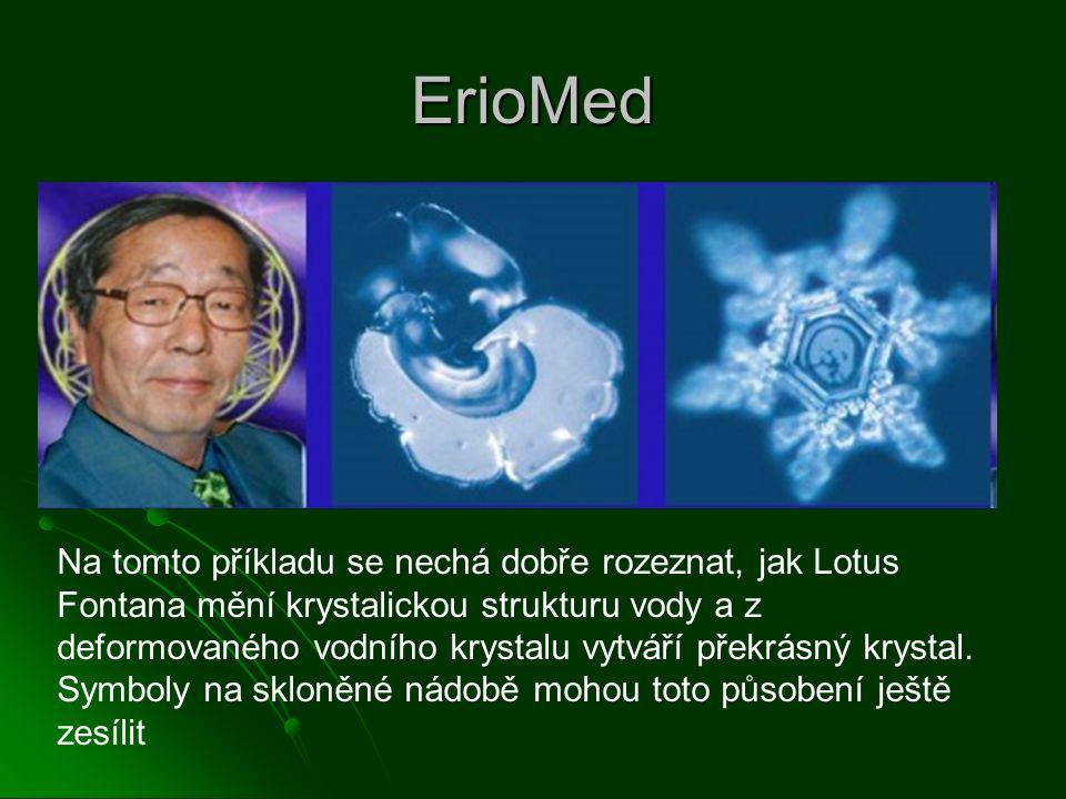 ErioMed Informace účinných látek z léčivých bylin jsou přenášeny: Informace účinných látek z léčivých bylin jsou přenášeny: Teplem a vlhkem v posteli Teplem a vlhkem v posteli Spící tělo přijímá tyto informace Spící tělo přijímá tyto informace Tak působí léčivé byliny na lidské tělo Tak působí léčivé byliny na lidské tělo