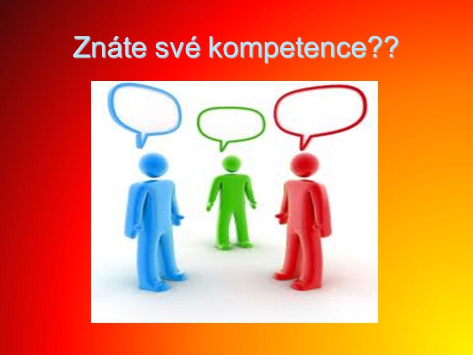 Znáte své kompetence??