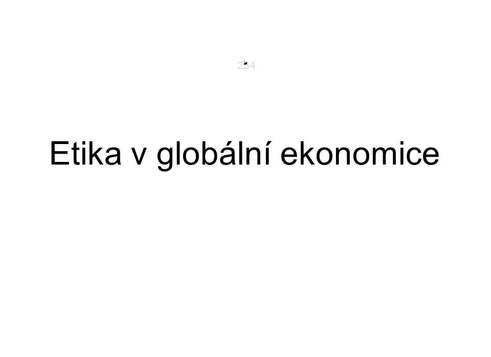 . Etika v globální ekonomice 234