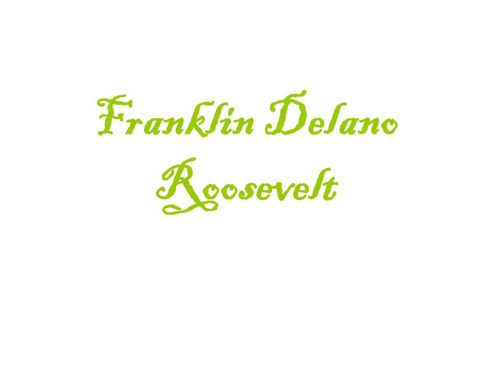 Rodinný ž ivot -ve svých 23 letech se oženil se svou vzdálenou sestřenicí Elenaor a mněli spolu 6 dětí: Anna Eleanor James Delano Franklin Delano, Jr.