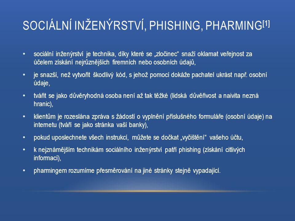 KYBERKRIMINALITA [2] jiné označení – kyberzločin, počítačová kriminalita, trestná činnost páchaná za pomocí informačních a komunikačních technologií, v České republice je kyberkriminalita zahrnuta v Trestním zákoníku, zákon č.