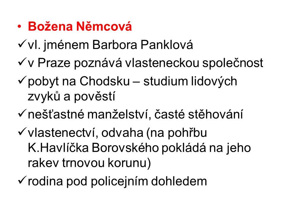 Božena Němcová vl.