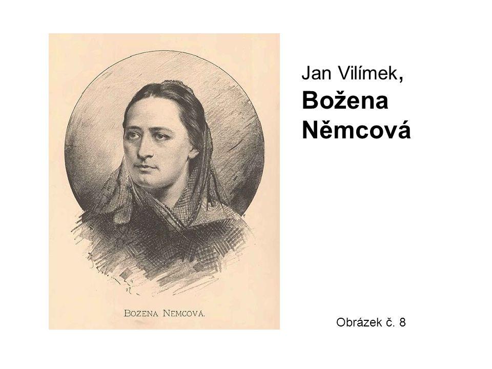 Obrázek č. 8 Jan Vilímek, Božena Němcová