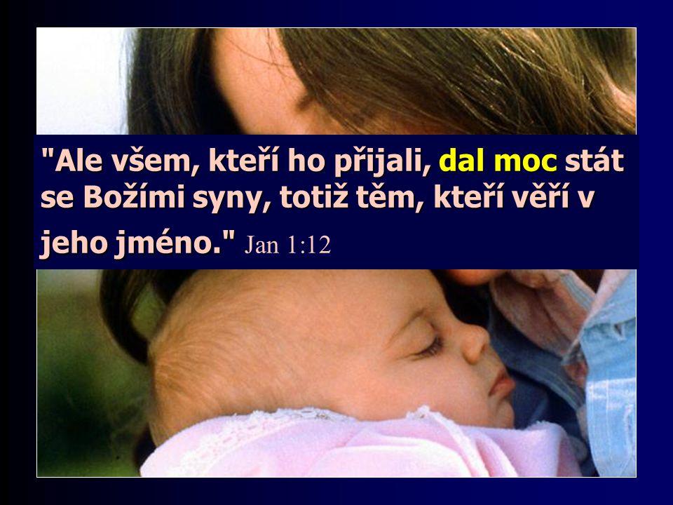 Takový člověk si uvědomuje svou stálou závislost na Bohu. Ochotně, z lásky a z vděčnosti Krista následuje.