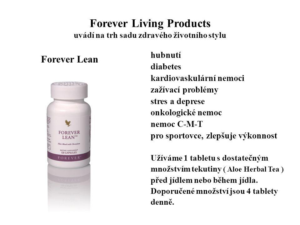 Forever Living Products uvádí na trh sadu zdravého životního stylu hubnutí diabetes kardiovaskulární nemoci zažívací problémy stres a deprese onkologi