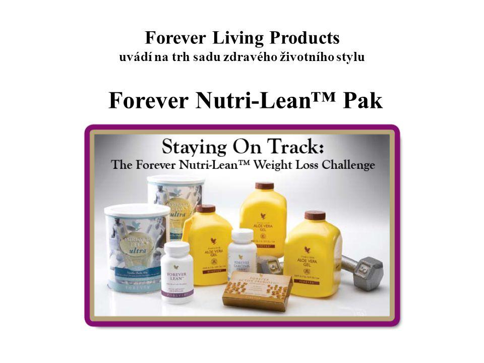 Forever Living Products uvádí na trh sadu zdravého životního stylu Forever Nutri-Lean™ Pak