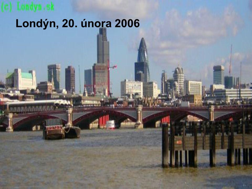 Londýn, 20. února 2006