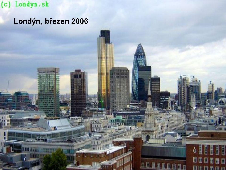 Londýn, březen 2006