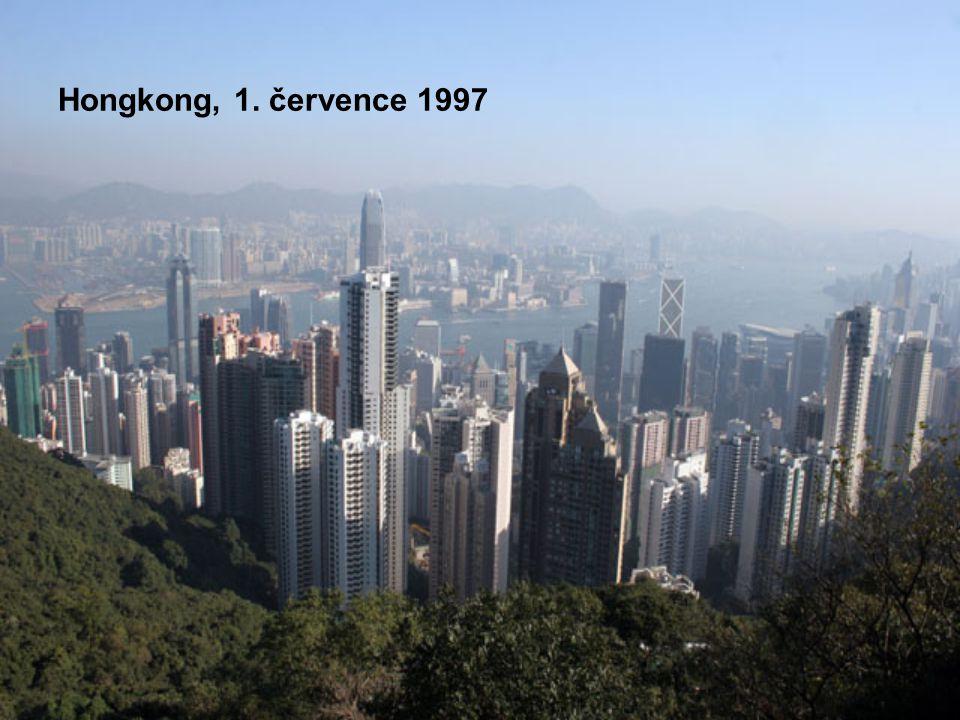 Hongkong, 1. července 1997