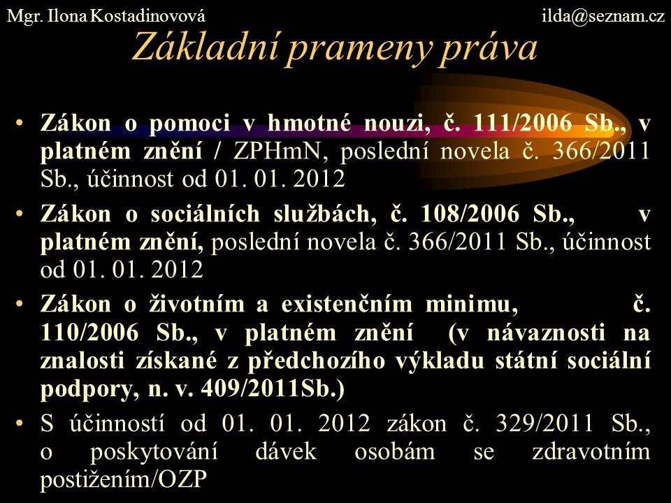 Doporučená literatura Břeská N., Vránová, L.