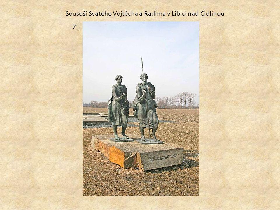 Sousoší Svatého Vojtěcha a Radima v Libici nad Cidlinou 7