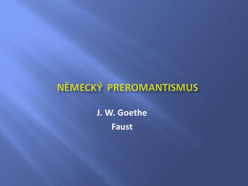 J. W. Goethe Faust