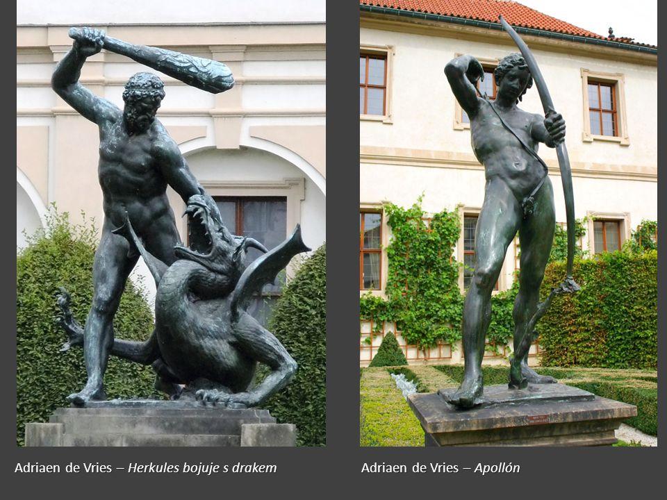 Adriaen de Vries – Herkules bojuje s drakem Adriaen de Vries – Apollón