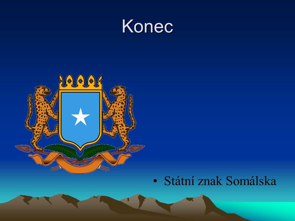 Konec Státní znak Somálska