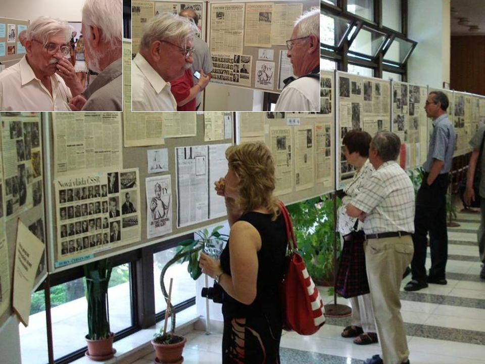 Městská knihovna v Rychnově nad Kněžnou ke 40. výročí srpna 1968 otevřela 11.