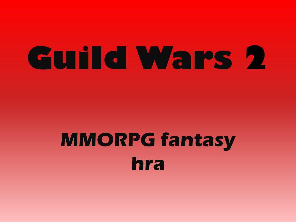Guild Wars 2 MMORPG fantasy hra