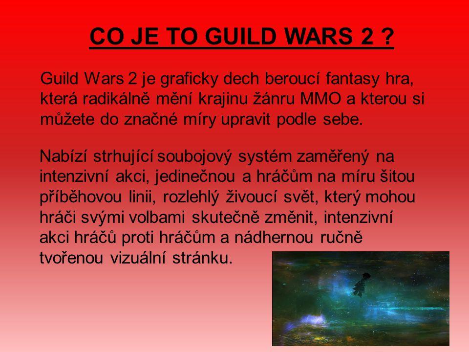 CO JE TO GUILD WARS 2 .