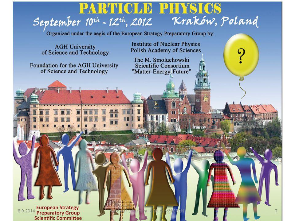 8.9.20147Seminář v Karolinu k 60. výročí CERN