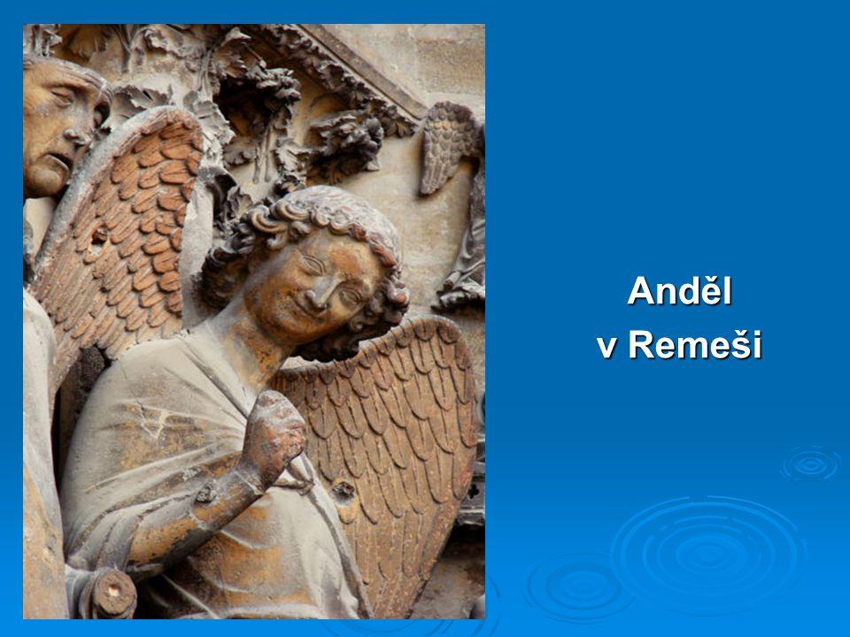 Anděl v Remeši