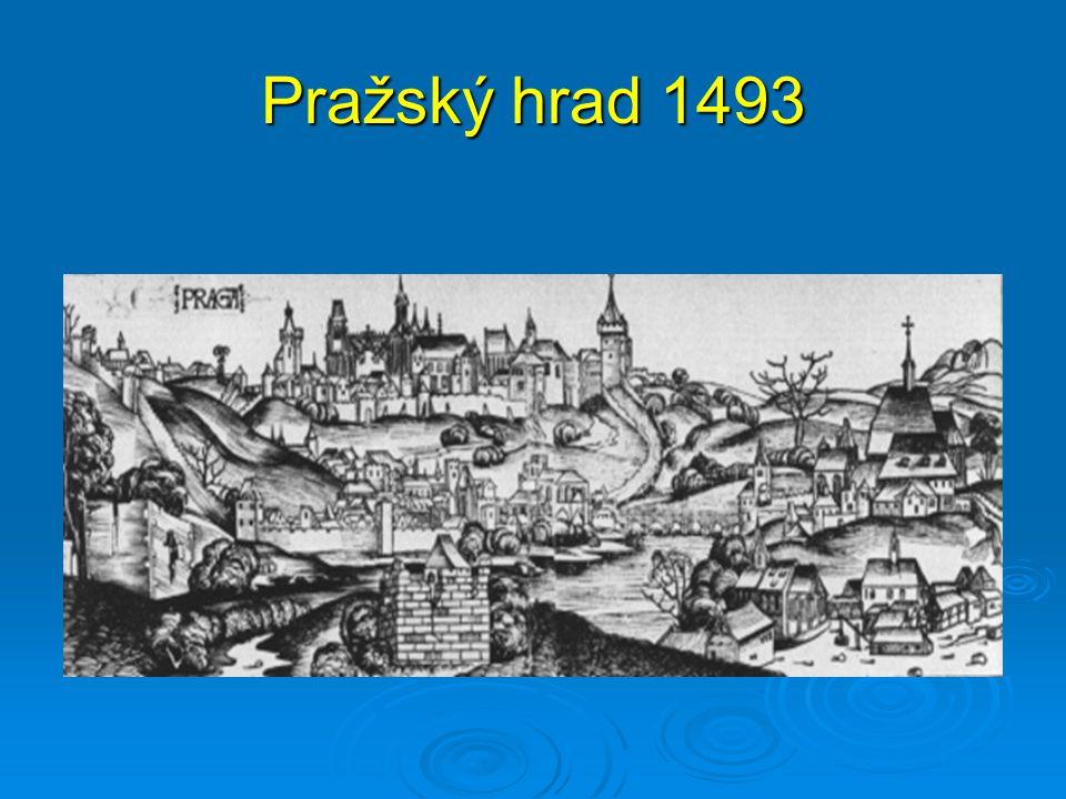 Pražský hrad 1493