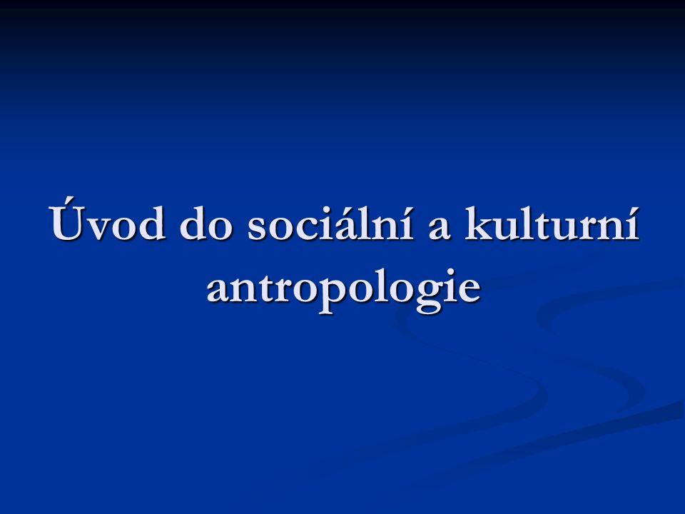 Strukturální antropologie (Francie – 60.léta 20.