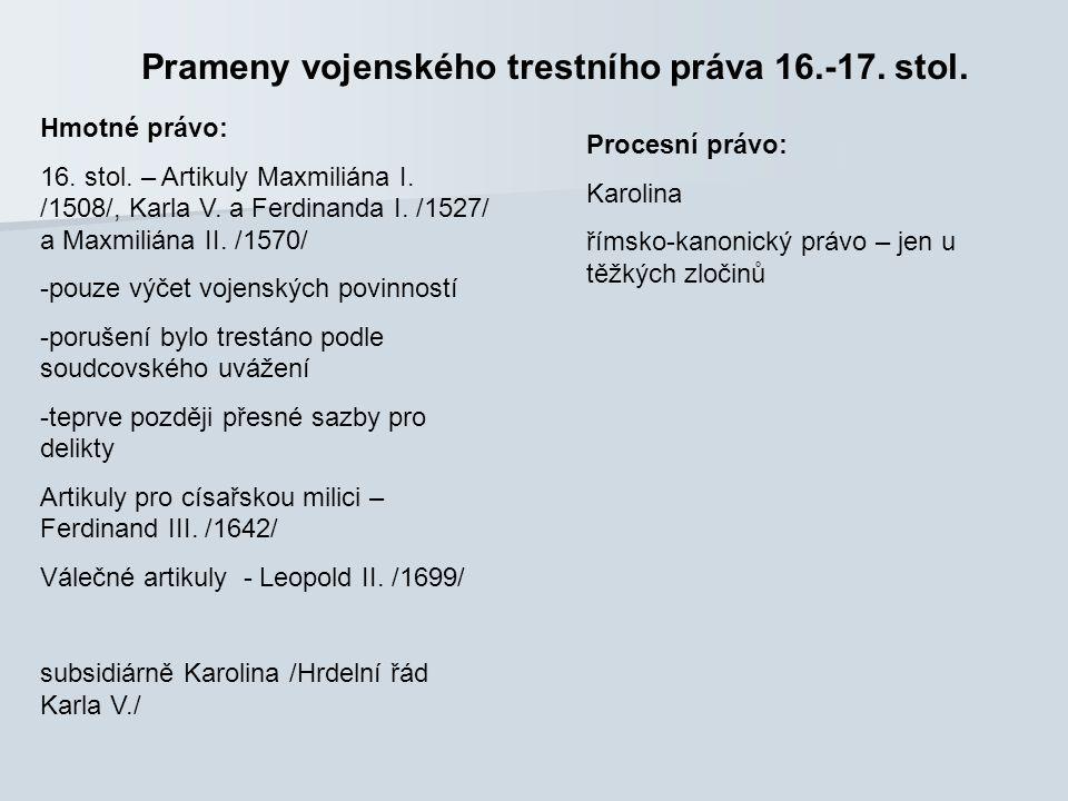 Tresty v 2.pol. 19. stol. a 20. stol.