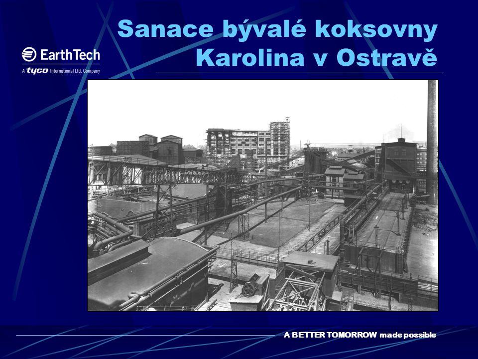 A BETTER TOMORROW made possible Sanace bývalé koksovny Karolina v Ostravě