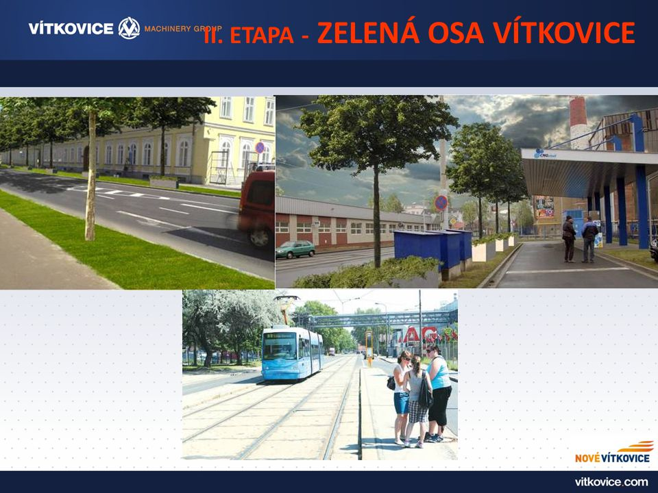 II. ETAPA - ZELENÁ OSA VÍTKOVICE
