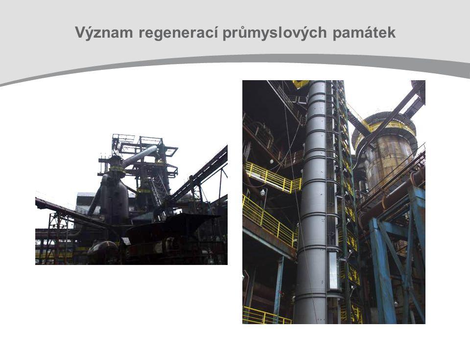 Význam regenerací průmyslových památek