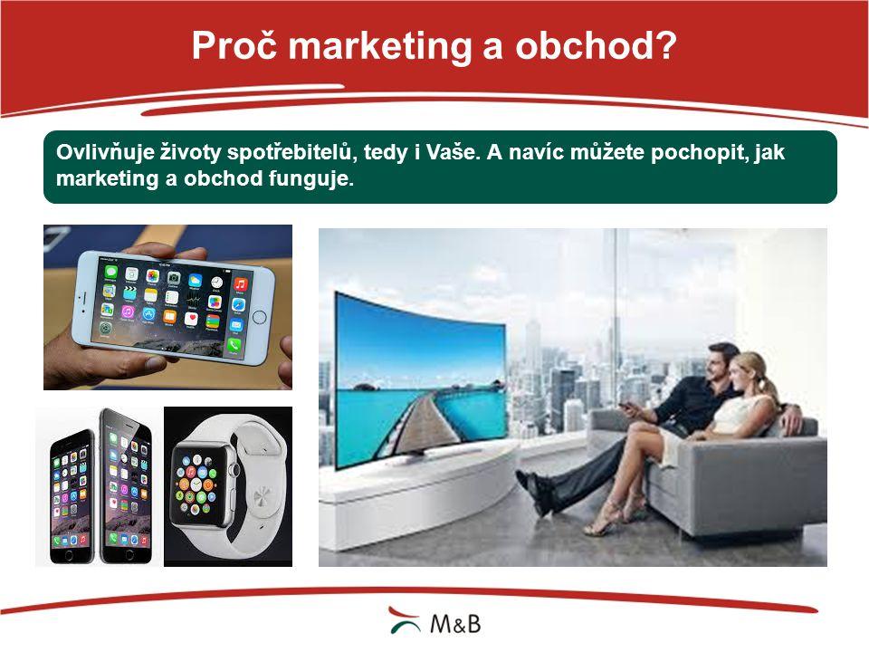 Proč marketing? Žádná úspěšná značka, firma nebo instituce se bez marketingu neobejde.