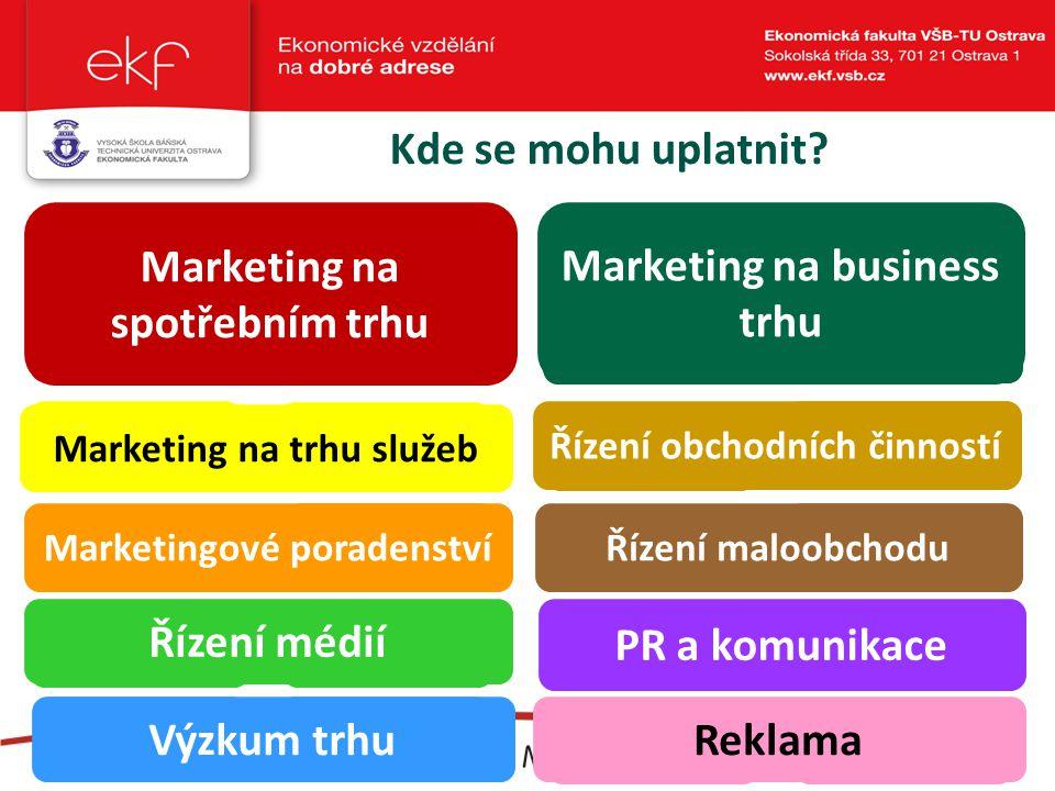 Proč marketing a obchod na EkF.