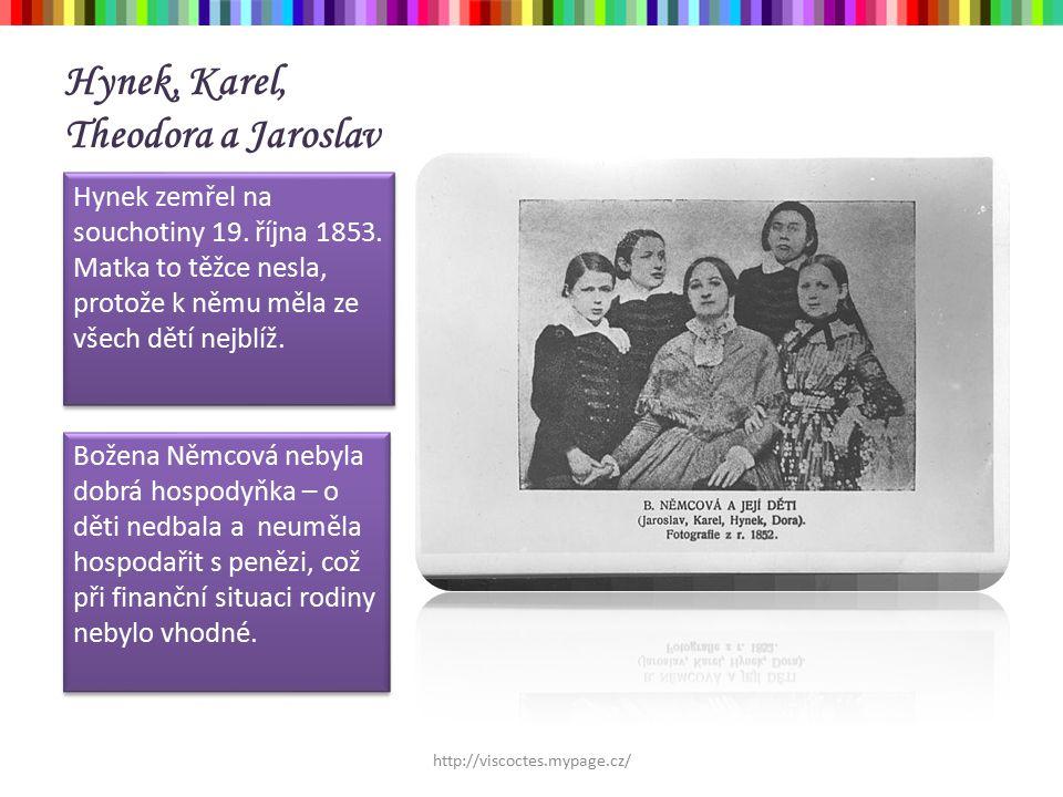 Němcová = povinná četba Nebyla ideální matka, manželka ani milenka.