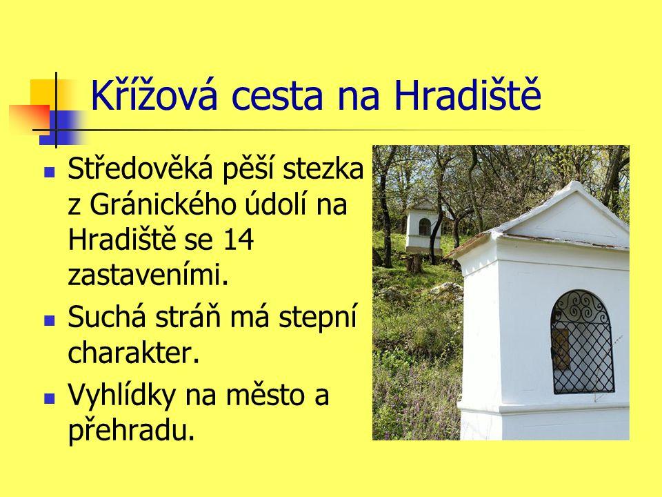 Křížová cesta na Hradiště Středověká pěší stezka z Gránického údolí na Hradiště se 14 zastaveními.