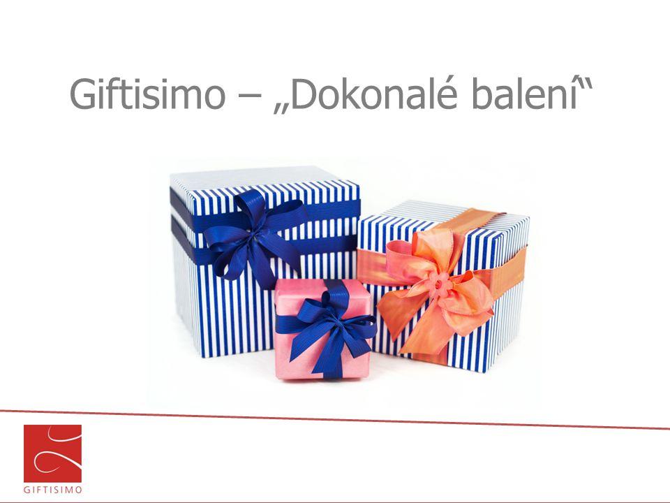 "Giftisimo – ""Dokonalé balení"""