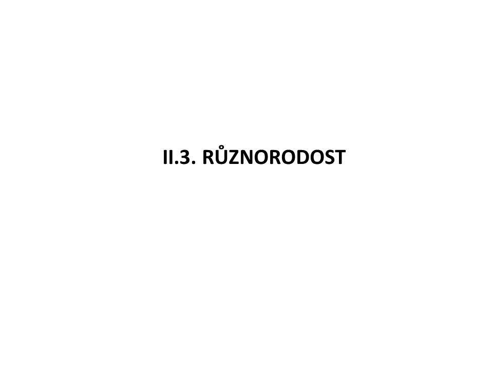 II.3. RŮZNORODOST