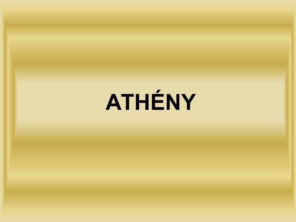 HISTORIE Vznik Athén spadá až do 3.tisíciletí před naším letopočtem.