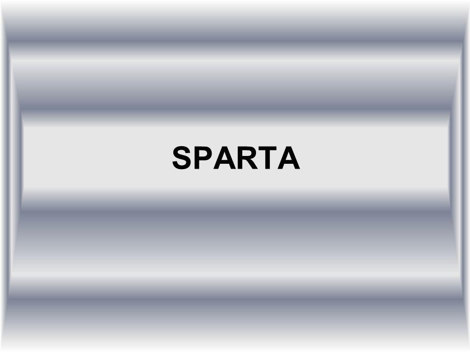 O SPARTĚ Sparta (dórsky Σπάρτα, Spartā; novořecky Σπάρτη, Sparti) byla starověká řecká obec a hlavní město stejnojmenného městského státu, nazývaného rovněž Lakedaimón.