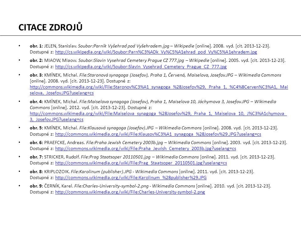 obr. 1: JELEN, Stanislav. Soubor:Parník Vyšehrad pod Vyšehradem.jpg – Wikipedie [online]. 2008. vyd. [cit. 2013-12-23]. Dostupné z: http://cs.wikipedi