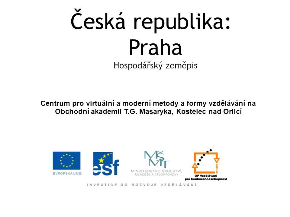  Praha je hlavním dopravním uzlem v České republice a významnou křižovatkou ve střední Evropě.