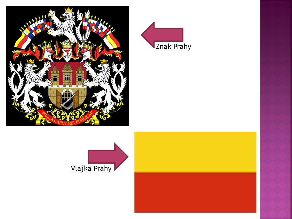 Znak Prahy Vlajka Prahy