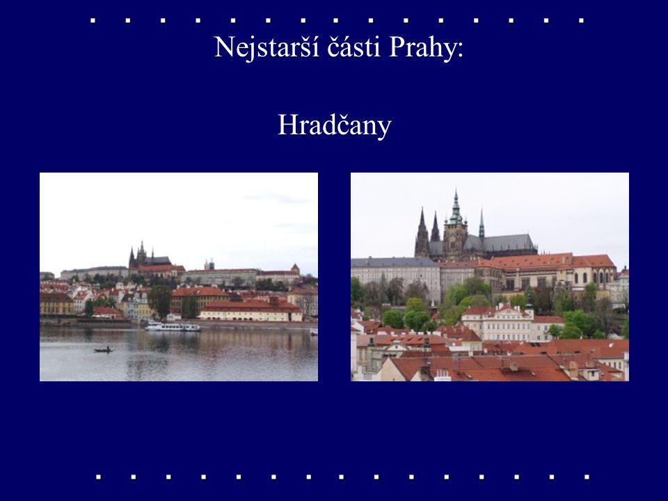 Nejstarší části Prahy: Pražský hrad