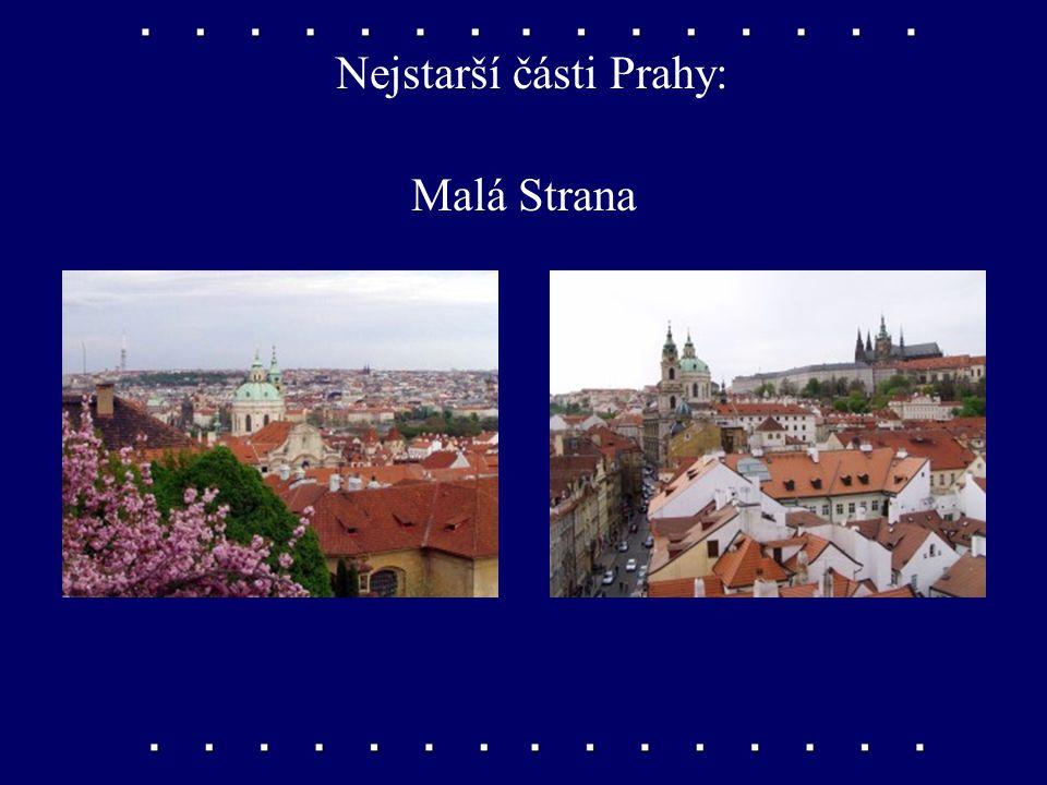 Nejstarší části Prahy: Hradčany