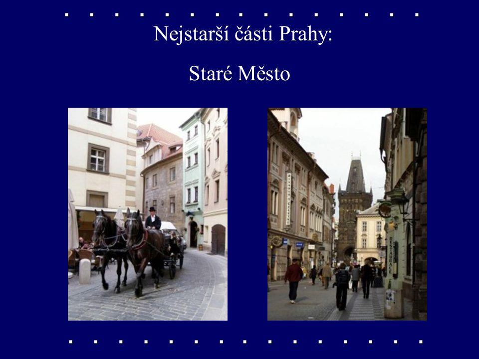 Nejstarší části Prahy: Malá Strana
